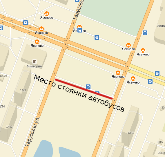 Улица островитянова на карте москвы